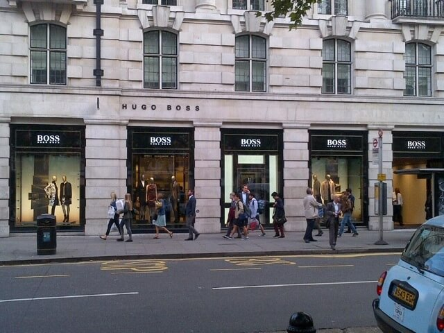 main-shop-front-hugoboss-sloane-square-london-mjlighting