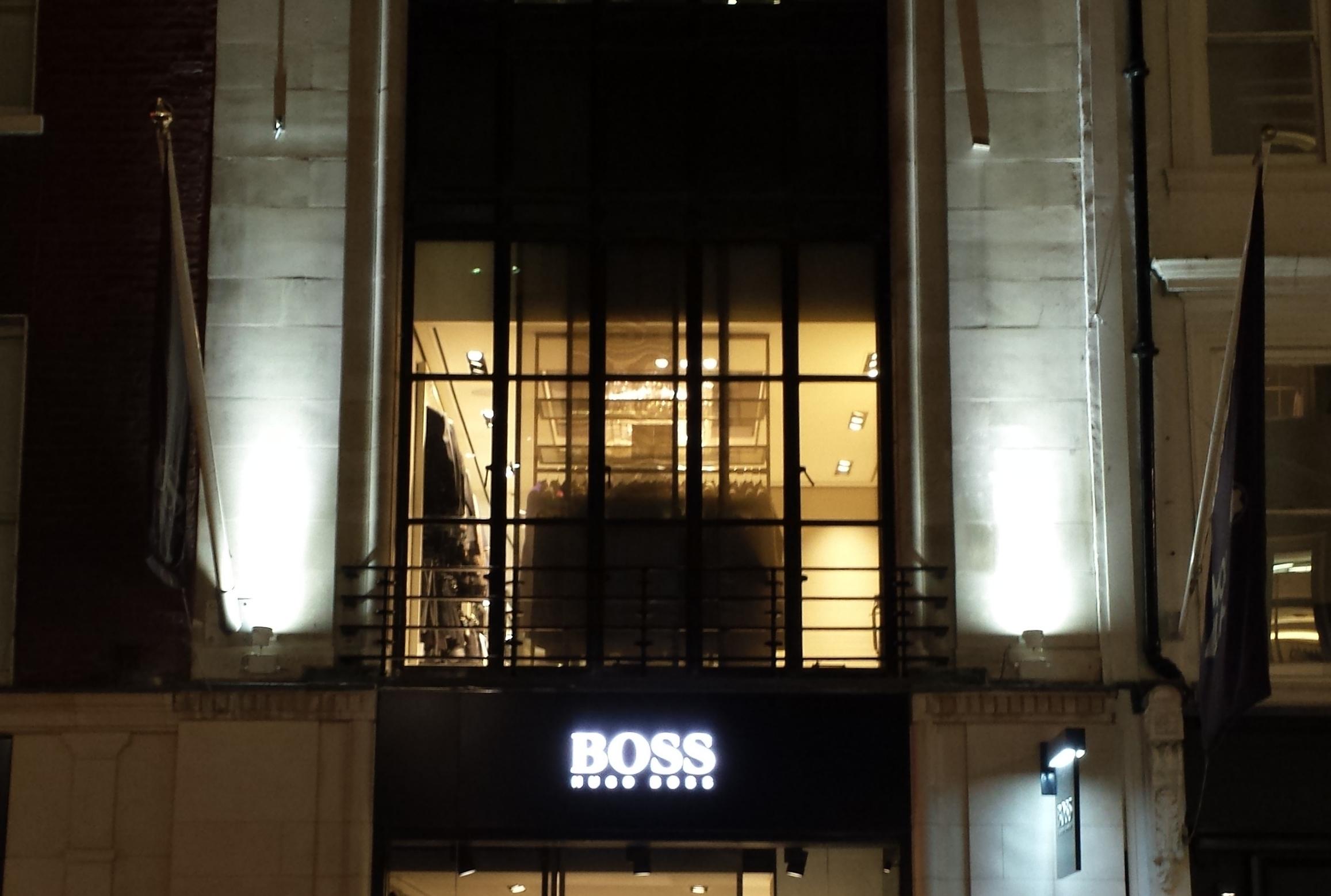 hugo boss bond street